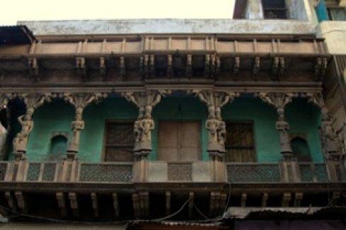 Musician's Balcony, Agra