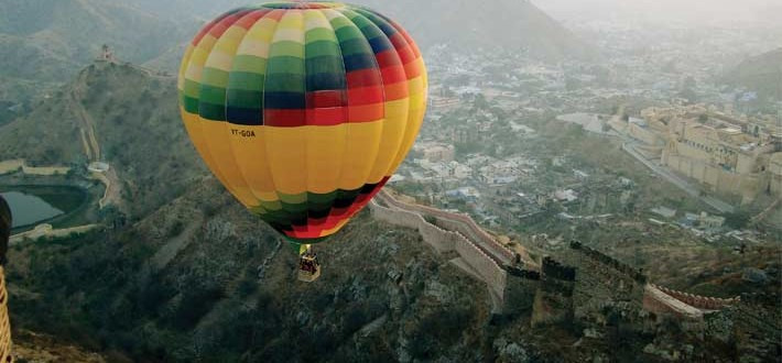 hot air balloon safari jaipur