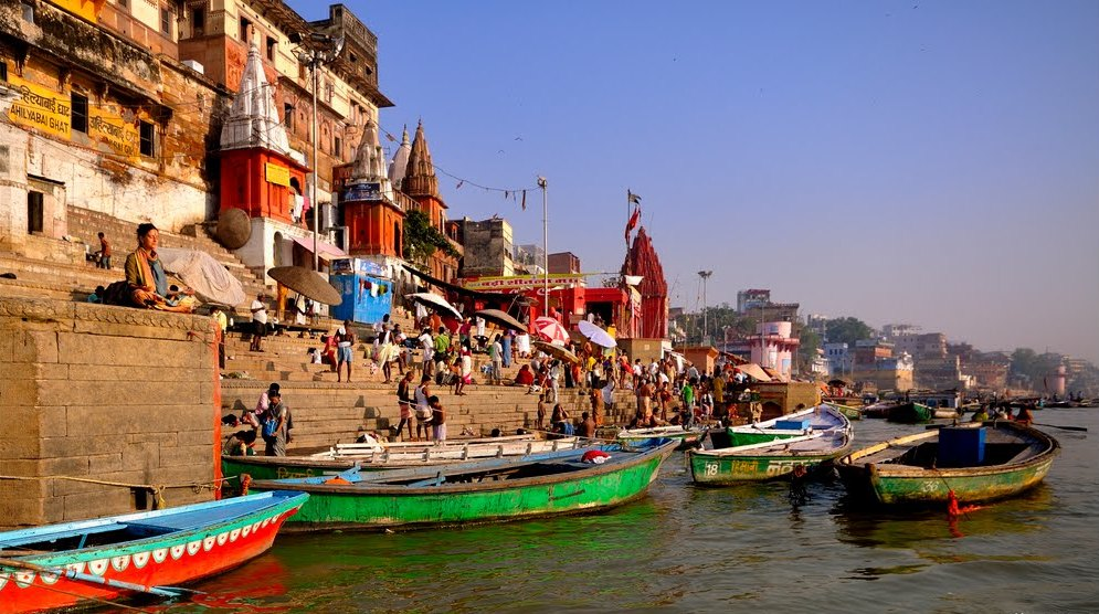 Holy Bathe in the Ganges