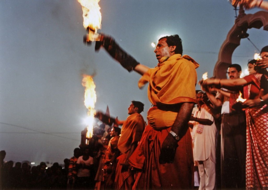 Aarti at the Holi Ghats of Shipra River