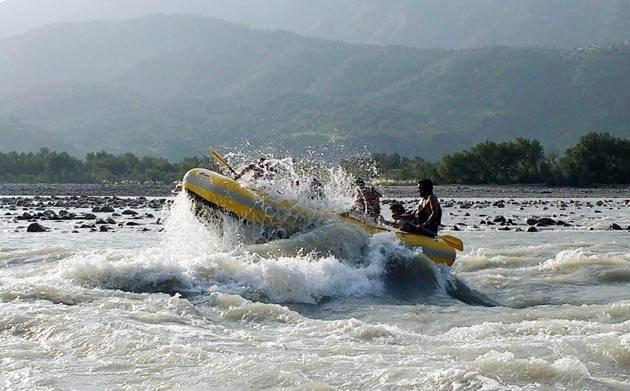 River Rafting kashmir